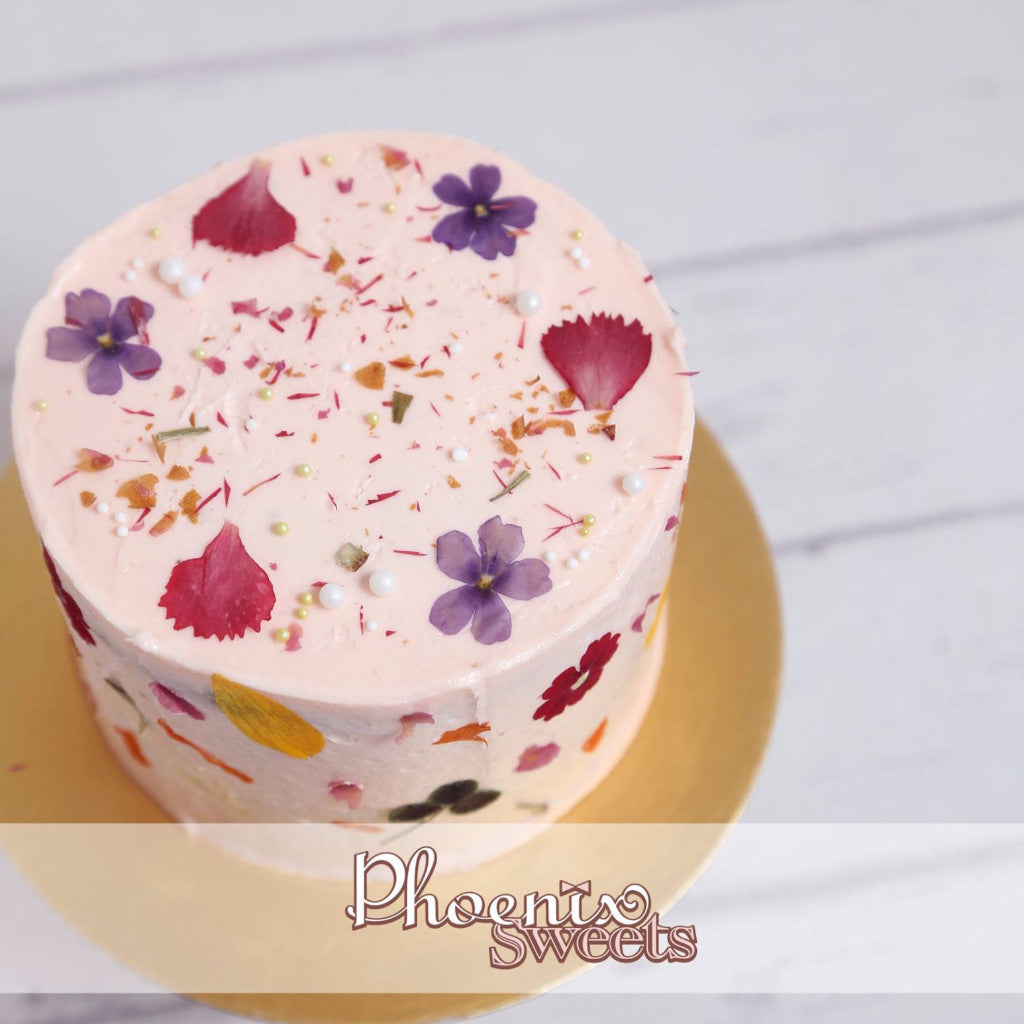Phoenix Sweets Mini Butter Cream Cake Rose Earl Grey