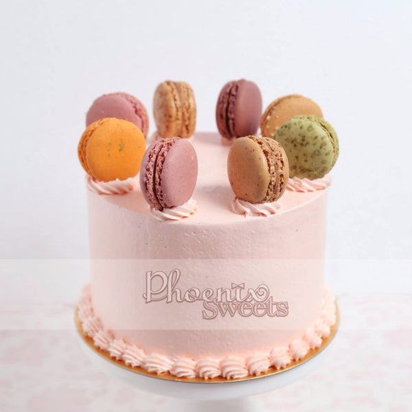 French Fantasy Birthday Cake for Kid's Birthday and Baby Shower 立體 生日蛋糕 3D Cake