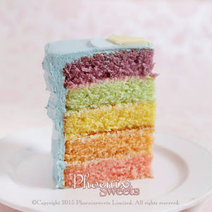 French Fantasy Birthday Cake for Kid's Birthday and Baby Shower 立體 生日蛋糕 3D Cake Rainbow