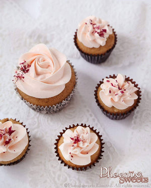 Comparison of Regular and Mini Cupcake Mini Cupcake for Kid's Birthday and Baby Shower 立體 生日蛋糕 3D Cake