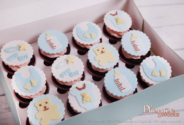 網上訂購Phoenix Sweets Themed Cupcake Set - Baby Shower 結婚 甜點檯 回禮小禮物 伴手禮 Order Phoenix Sweets Themed Cupcake Set - Baby Shower to celebrate wedding candy corner dessert table souvenirs Cupcake, Online Store, Party Sweets