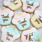 "網上訂購Phoenix Sweets Cookie - Thank You ""Cupcake"" 結婚 甜點檯 回禮小禮物 伴手禮 Order Phoenix Sweets Cookie - Thank You ""Cupcake"" to celebrate wedding candy corner dessert table souvenirs Cookie, Goodbye Gift, Party Sweets, Wedding"