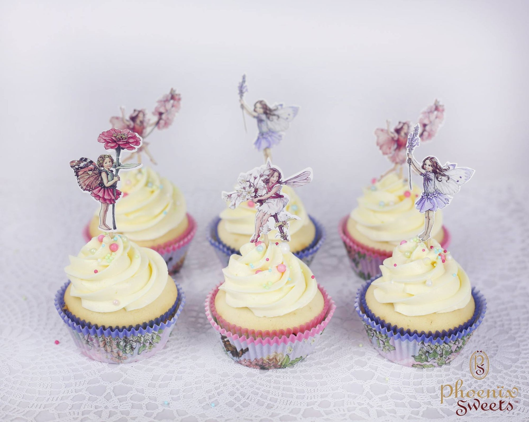 Themed Cupcake Set - Flower Fairy