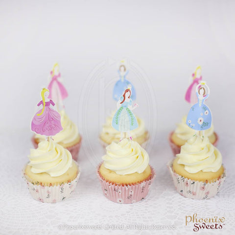 Phoenix Sweets - Princess Theme Cupcake Set 公主主題杯子蛋糕套裝