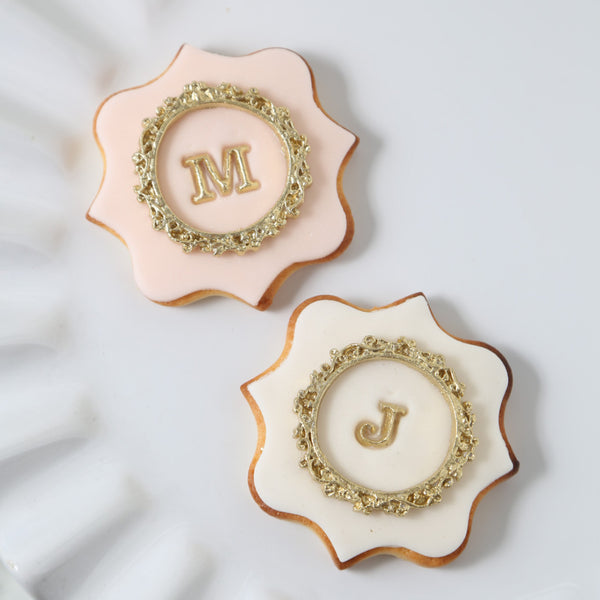 網上訂購Phoenix Sweets Cookie - Initial Cookie 結婚 甜點檯 回禮小禮物 伴手禮 Order Phoenix Sweets Cookie - Initial Cookie to celebrate wedding candy corner dessert table souvenirs Cookie, Goodbye Gift, Party Sweets, Wedding