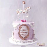 網上訂購Phoenix Sweets Fondant Cake - Carousel Cake 香港生日蛋糕結婚蛋糕 Order Phoenix Sweets Hong Kong Fondant Cake - Carousel Cake Birthday Cake and Wedding Cake to celebrate birthday and wedding Cake, Carousel Cake, Elegant Ladies, Featured Products, Fondant Cake, Gentlemen, Kid's Birthday, Online Store