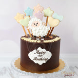 Cute Little Animal Birthday Cake for Kid's Birthday and Baby Shower 立體 生日蛋糕 3D Cake