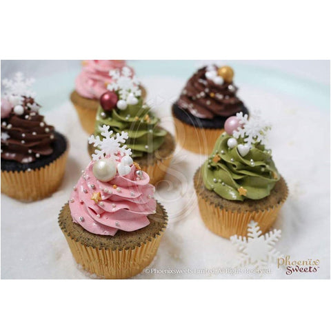 2017 Christmas - Butter Cream Cupcake Set