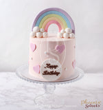 Rainbow Birthday Cake for Kid's Birthday and Baby Shower 立體 生日蛋糕 3D Cake