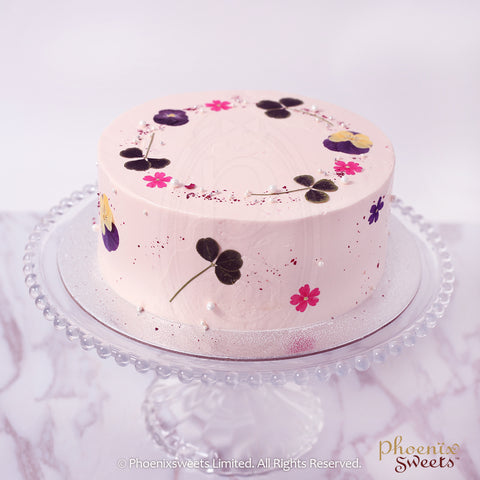 Butter Cream Cake - Rose Earl Grey