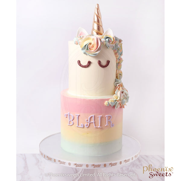 Phoenix Sweets Hong Kong Birthday Cake Classic Unicorn