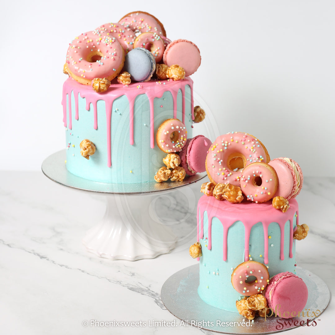 Mini Butter Cream Cake - Colour Bomb Cake