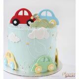 Butter Cream Cake - Cute Little Cars