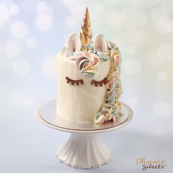 Phoenix Sweets 訂購 生日蛋糕 Birthday Cake 香港 Hong Kong Mini Butter Cream Cake - Classic Unicorn 網上蛋糕店 Online Cake Shop Butter Cream Cake, Cake, Elegant Ladies, Kid's Birthday, Mini Cake, Online Store, Unicorn Cake
