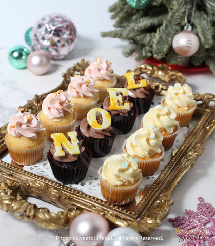 2019 Christmas - Mini Cupcake Set B