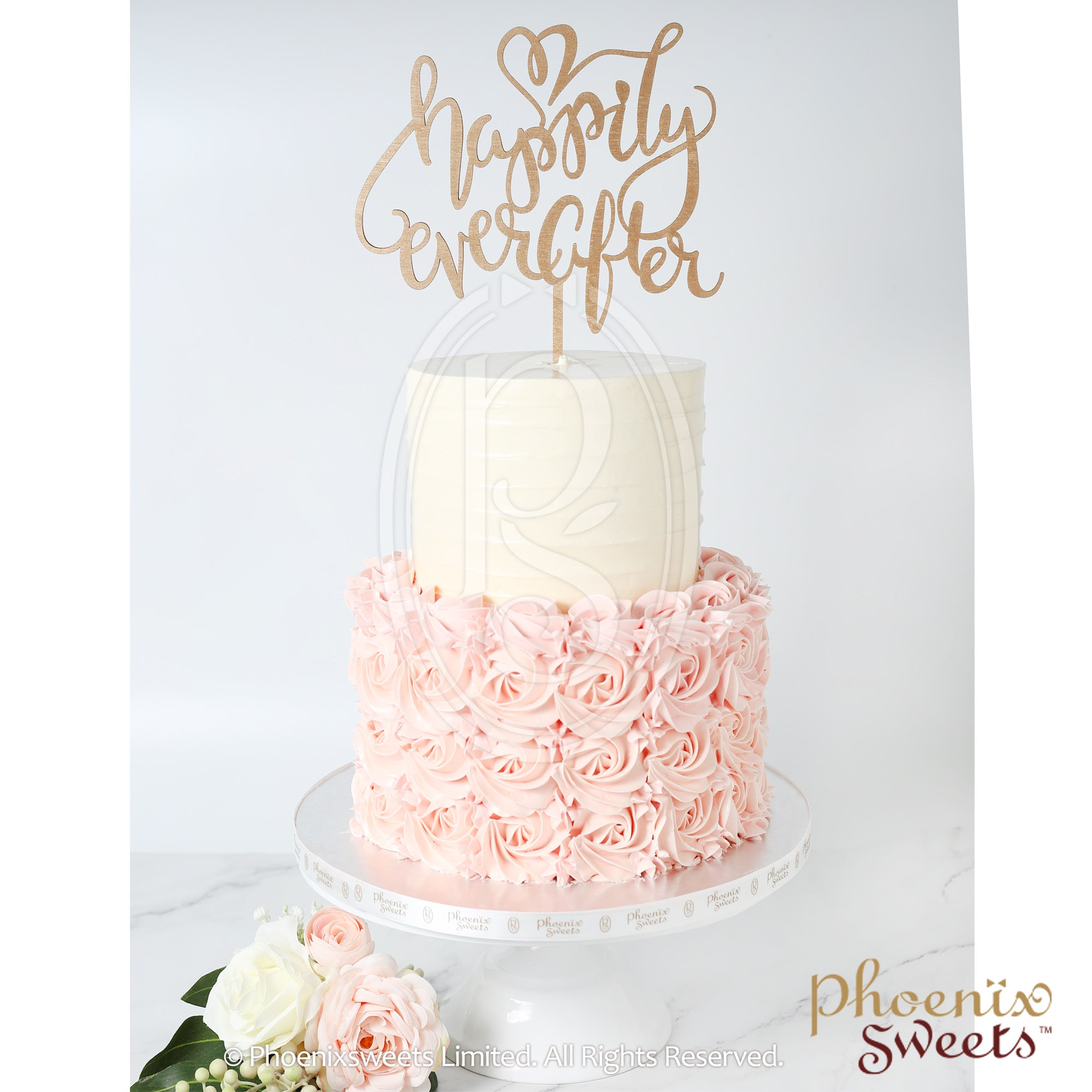 Butter Cream Cake - Rose Swirl Gown