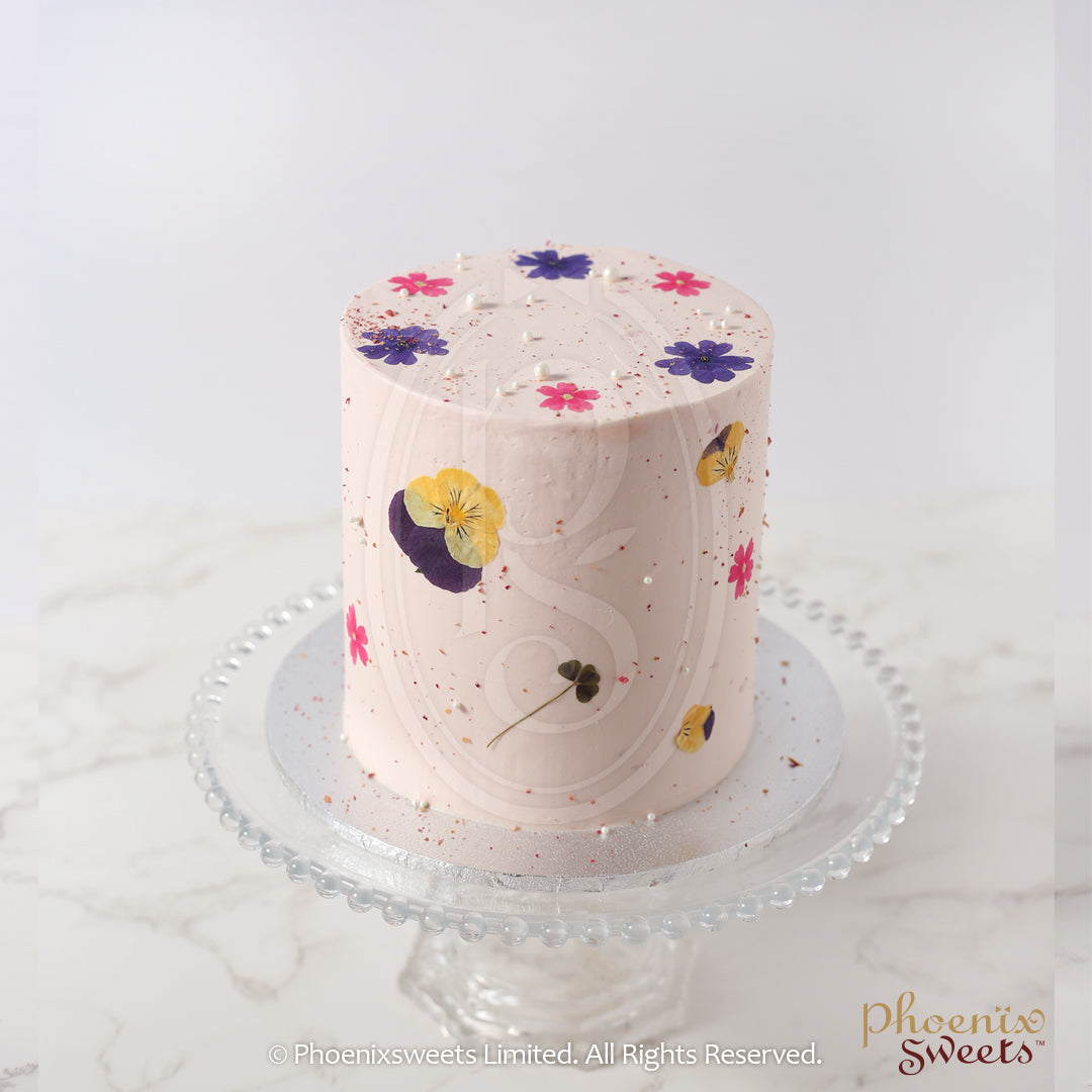 Mini Butter Cream Cake - Rose Earl Grey