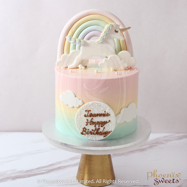 Butter Cream Cake - Cotton Unicorn