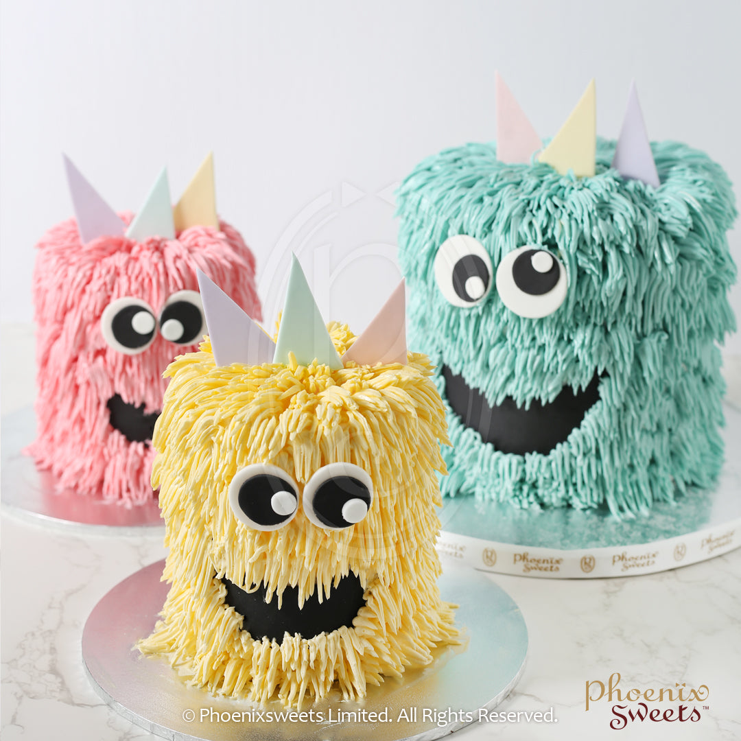 Butter Cream Cake - Happy Monster