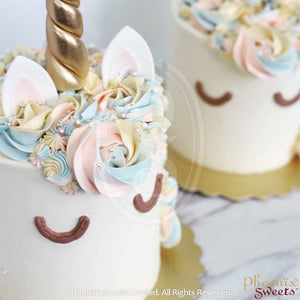 Phoenix Sweets Hong Kong Birthday Cake 香港 生日 蛋糕 Classic Unicorn