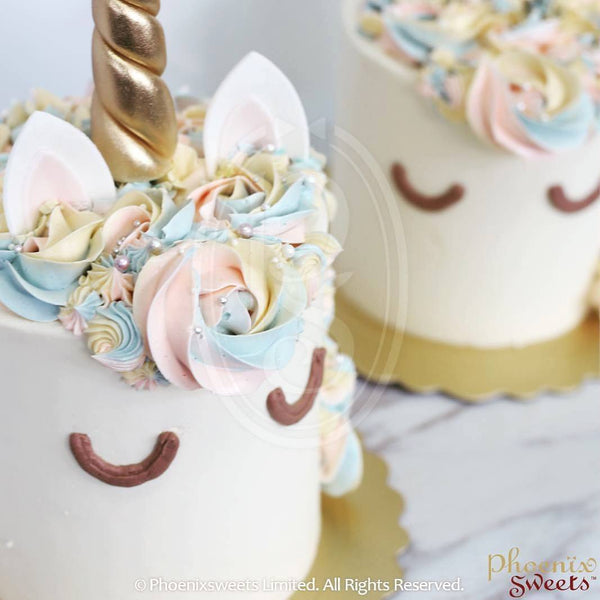 Phoenix Sweets 訂購 生日蛋糕 Birthday Cake 香港 Hong Kong Butter Cream Cake - Classic Unicorn 網上蛋糕店 Online Cake Shop Butter Cream Cake, Cake, Elegant Ladies, Featured Products, Kid's Birthday, Online Store, Unicorn