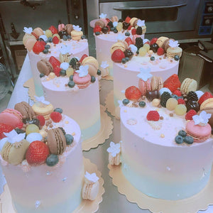 Cotton Candy Birthday Cake for Kid's Birthday and Baby Shower 立體 生日蛋糕 3D Cake Hong Kong 香港
