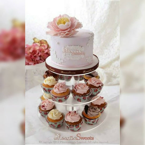 網上訂購Phoenix Sweets Themed Cupcake Set - Flower Fairy 結婚 甜點檯 回禮小禮物 伴手禮 Order Phoenix Sweets Themed Cupcake Set - Flower Fairy to celebrate wedding candy corner dessert table souvenirs Cupcake, Online Store, Party Sweets