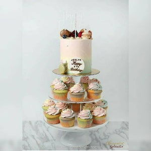 Cupcake Cake for Kid's Birthday and Baby Shower 立體 生日蛋糕 3D Cake