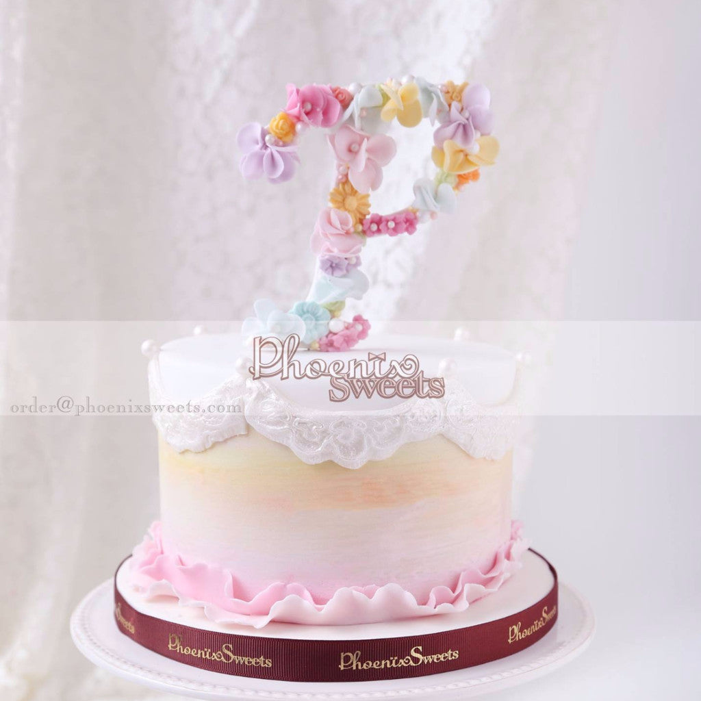 Handmade Letter Cake for Kid's Birthday and Baby Shower 立體 生日蛋糕 3D Cake