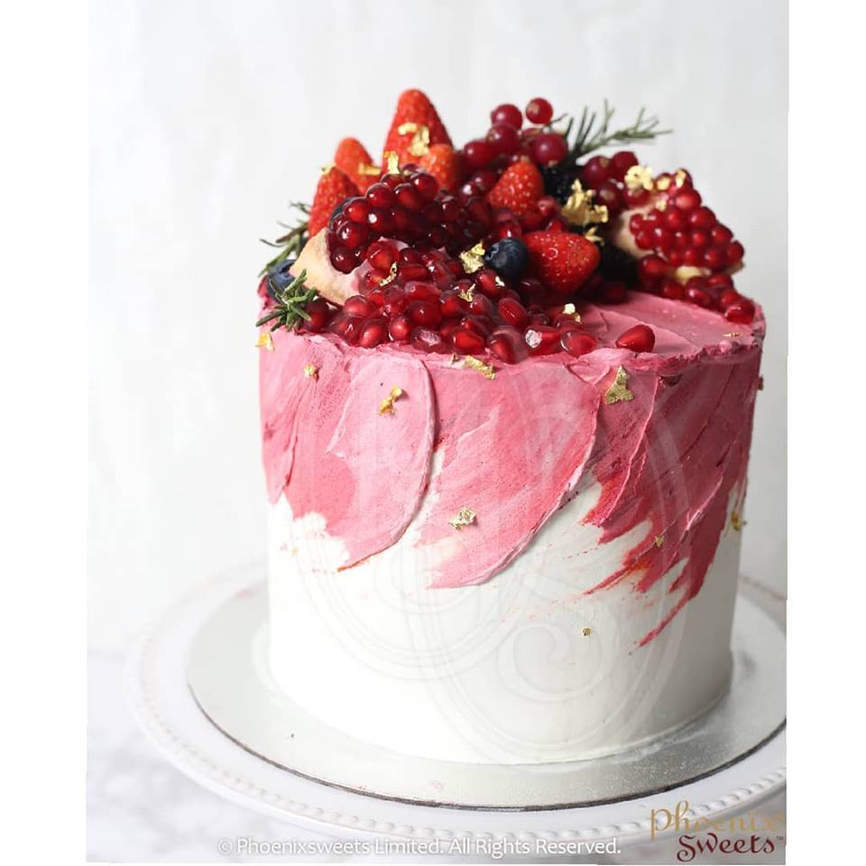 Butter Cream Cake - Ruby
