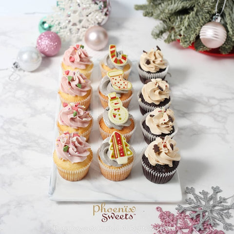 2019 Christmas - Mini Cupcake Set A