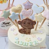 Phoenix Sweets 訂購 生日蛋糕 Birthday Cake 香港 Hong Kong Butter Cream Cake - Little Animal 網上蛋糕店 Online Cake Shop Butter Cream Cake, Cake, Featured Products, Kid's Birthday, Online Store