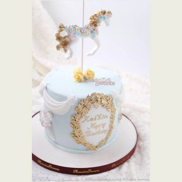 Phoenix Sweets 訂購 生日蛋糕 Birthday Cake 香港 Hong Kong Fondant Cake - Carousel Cake 網上蛋糕店 Online Cake Shop Cake, Carousel Cake, Elegant Ladies, Featured Products, Fondant Cake, Gentlemen, Kid's Birthday, Online Store