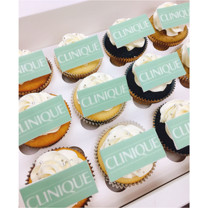 Phoenix Sweets - Sugar Print Logo Cupcake for Corporate Events