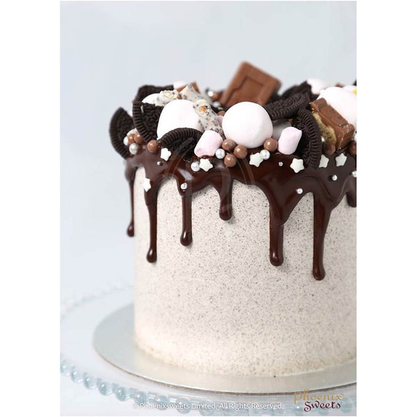 Cookies and Cream Birthday Cake for Kid's Birthday and Baby Shower 立體 生日蛋糕 3D Cake