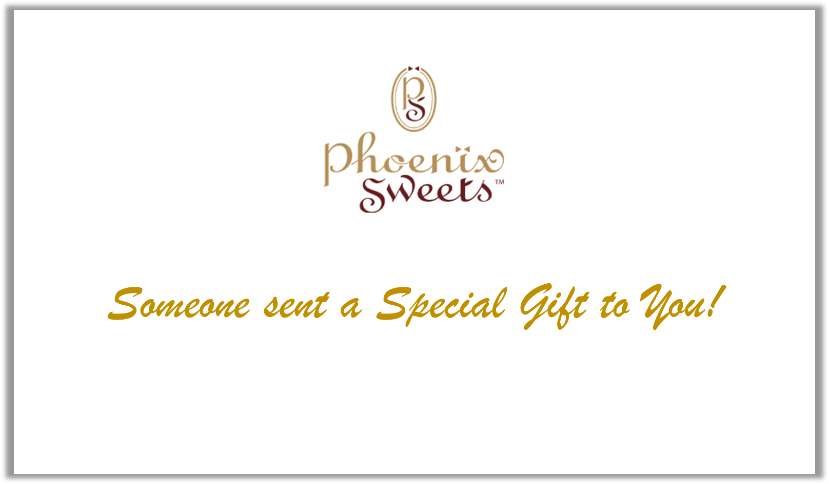 Phoenix Sweets - Digital Gift Card