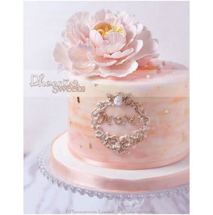 Water colour Peony Cake for Kid's Birthday and Baby Shower 立體 生日蛋糕 3D Cake