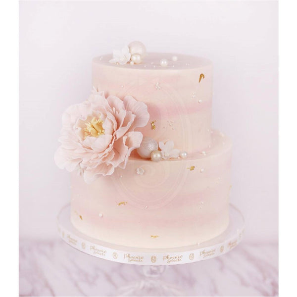 Phoenix Sweets Hong Kong Wedding Cake Peony 香港 結婚 蛋糕