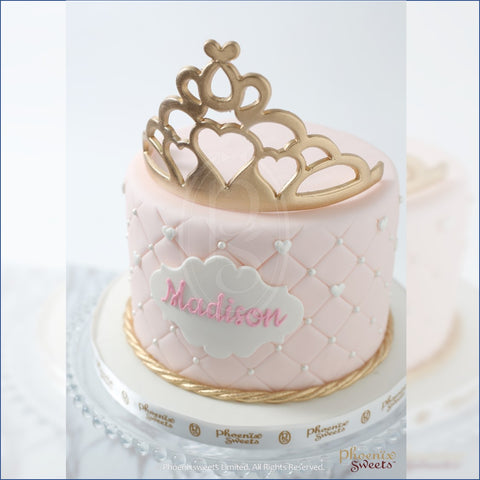 Phoenix Sweets 即時訂購公主蛋糕 Order Princess Cake Online Birthday 100 Days Celebration 生日 百日宴 慶祝