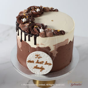 Butter Cream Cake - Colour Splash