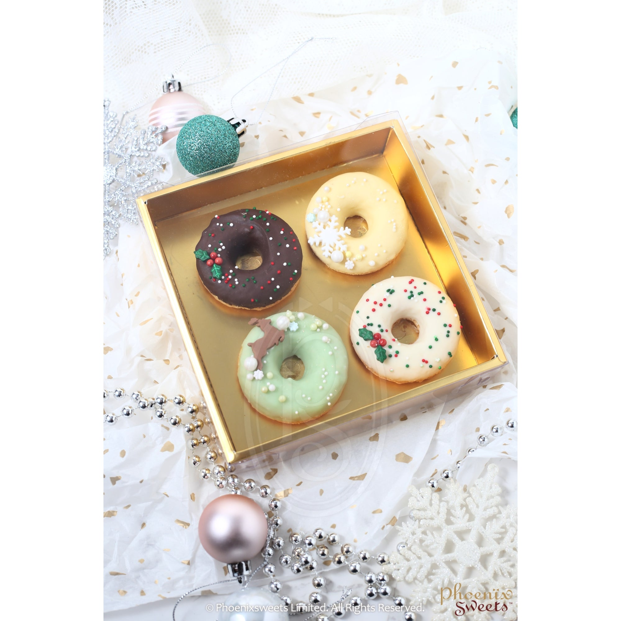"2020 Christmas - ""Donut"" Cake Set"