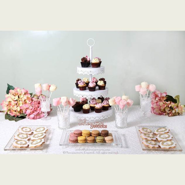 Phoenix Sweets Wedding Party Package Set 結婚 甜點檯 Dessert Table Candy Corner