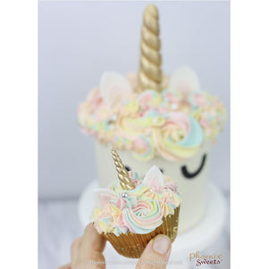 Themed Cupcake Set - Rainbow Unicorn