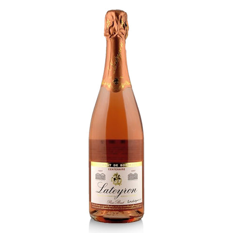 Selected Wine - Lateyron Crémant de Bordeaux Rosé Brut. N.V.