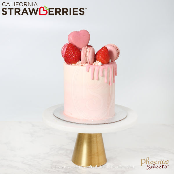 Phoenix Sweets 訂購 生日蛋糕 Birthday Cake 香港 Hong Kong Mini Butter Cream Cake - Strawberry Kisses 網上蛋糕店 Online Cake Shop Butter Cream Cake, Cake, Elegant Ladies, Mini Cake, Online Store