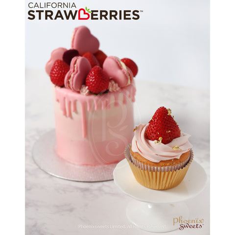 Cupcake - California Strawberry