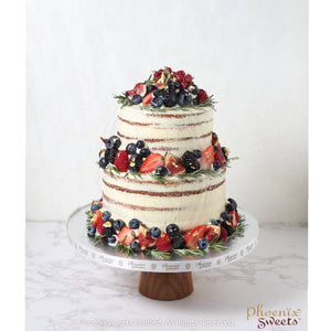 Butter Cream Cake - Tutti Fruity Cake (2 tiers)