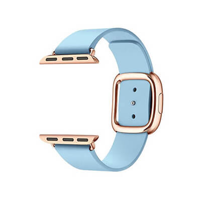 Modern Buckle Leather Band