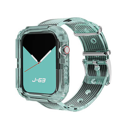 Transparent One-piece Loop Band
