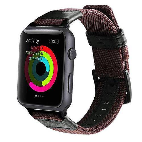Casual Style Nylon Apple Band